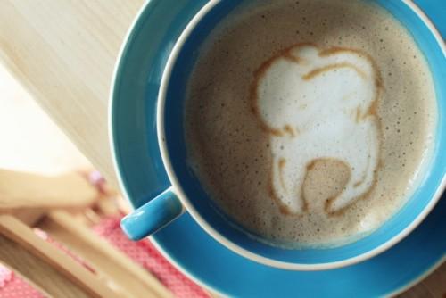 Кофе с зубом
